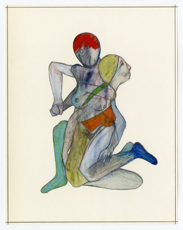 Jason Brinkerhoff - Untitled | From a unique collection of figurative drawings and watercolors at http://www.1stdibs.com/art/drawings-watercolor-paintings/figurative-drawings-watercolors/