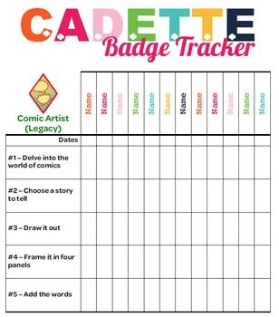 This Tracker allows troop leaders to document badge requirements for each girl. Includes all of the new Legacy and Journey badges in the Girls Guide to Girl Scouting. Each page includes one badge. For my troop, I printed the sheets in color, double-sided, then laminated them. To hold them together I hole-punched them laminated sheets and used a binder ring to hold them together. I placed stickers on the requirements so I can keep track. The girls got so excited looking through all of the…