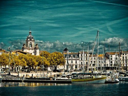 la rochelle france photos   la rochelle possesses a commercial deep water harbour named la