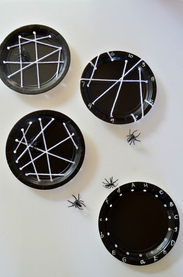 Itsy Bitsy Spider Party Activities. A non-scary, easy-to-put-together Halloween party for your little ones.