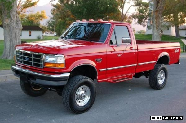 1996 f250 diesel 4x4 single cab google search ford f250 f350 4x4 regular cab powerstrokes. Black Bedroom Furniture Sets. Home Design Ideas