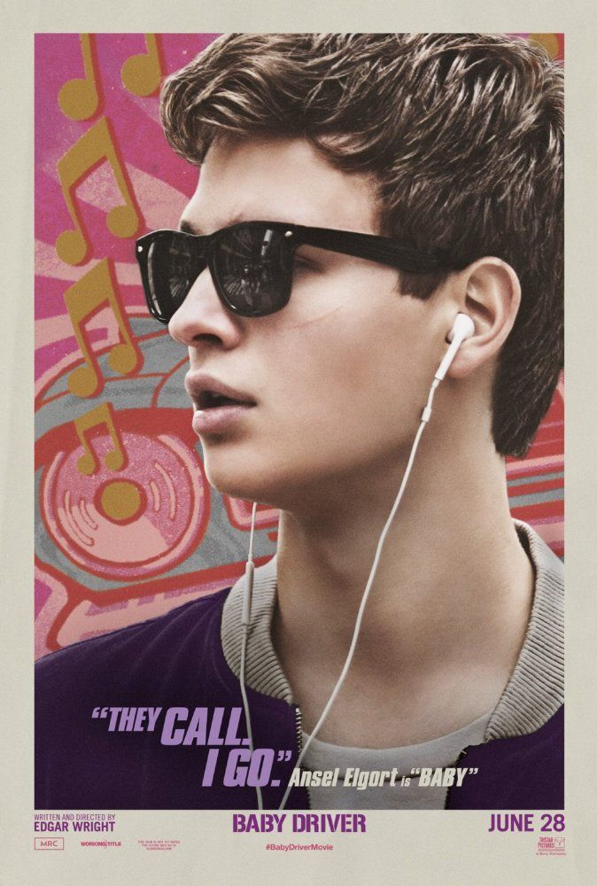 Starring Ansel Elgort, Jamie Foxx, Kevin Spacey | Action, Crime, Music