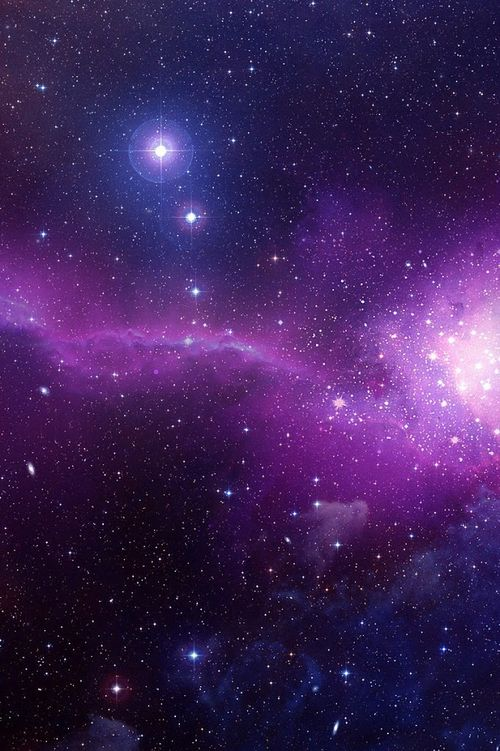 591 best images about iphone wallpapers on pinterest - Blue space galaxy wallpaper ...