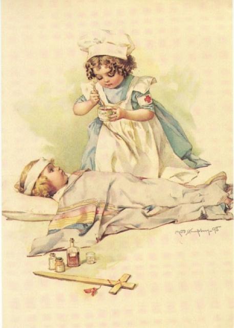 red cross nurse
