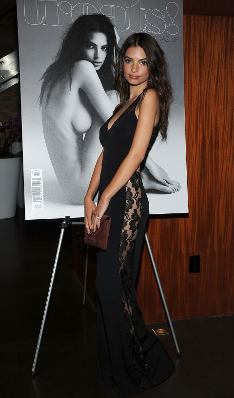 Emily Ratajkowski at an event in Los Angeles. See all of the model's best looks.
