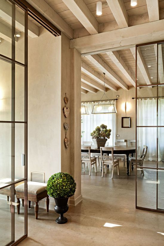 Best 25 french style homes ideas that you will like on for Sliding glass doors that look like french doors