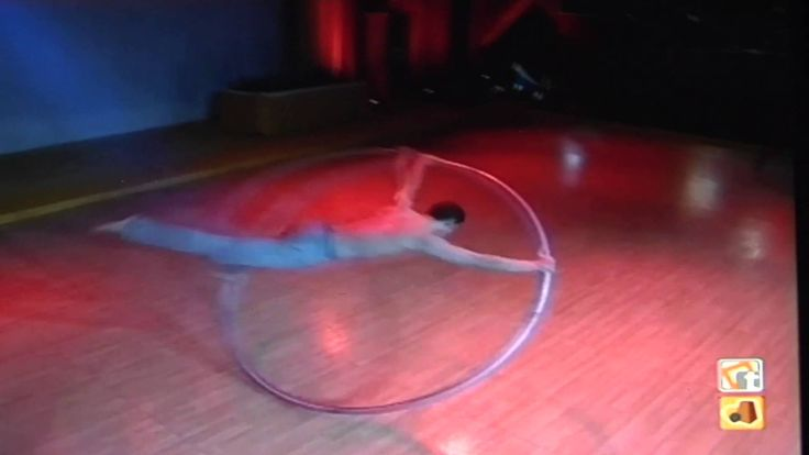 David Vento  - Cyr Wheel - 2013 - Euro Ballroom Championship