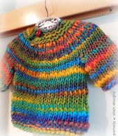 Ravelry: wheee...a sweater for baby pattern by pamela w allen