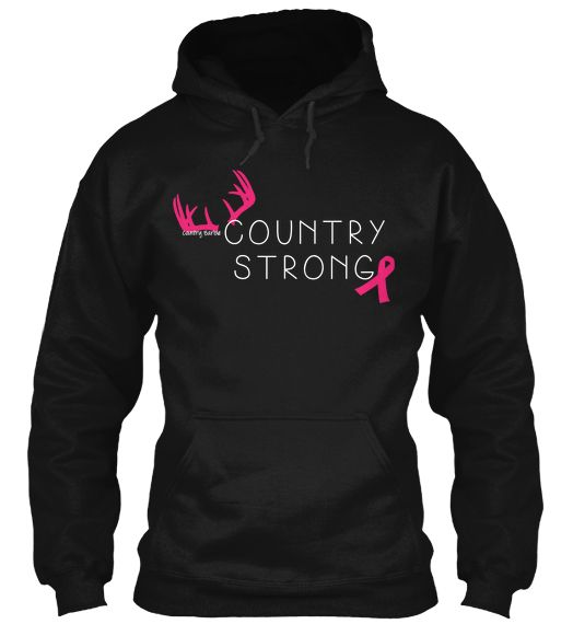 Country Strong, love these Breast Cancer Awareness sweatshirts!