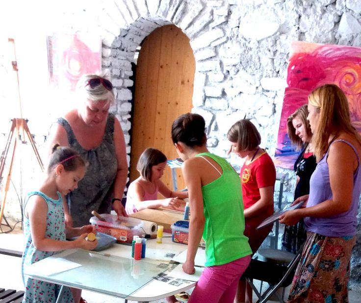 Művészeti élménytábor Kapolcs 2016.