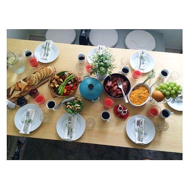 Déjeuner avec les copines pour fêter... rien du tout juste parce que c'est cool #enfait #healthyfood#instafood#mangersain