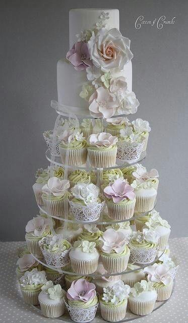 gorgeous #wedding #cupcakes
