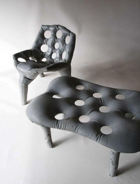 Concrete Chair by Tejo Remy & René Veenhuizen - Dezeen…
