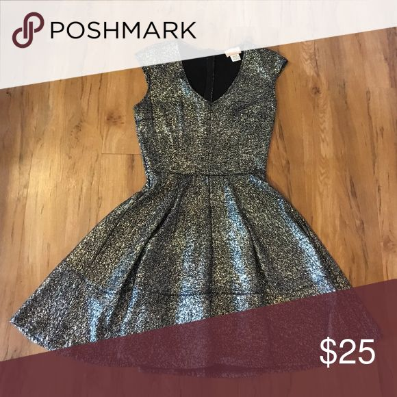 Love Ady sparkle dress Black and gold sparkle dress! Love ady Dresses Midi