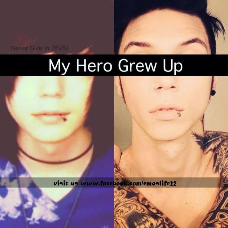 black veil brides and he's still amazing!