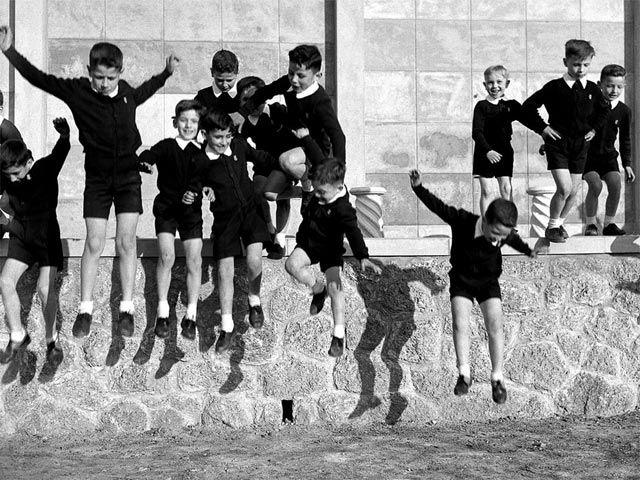 Nino Migliori Dalla serie Gente dell'Emilia, 1957.