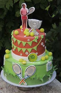 lekker zoet: Tennis taart (tco) voor Sophie 13 jaar