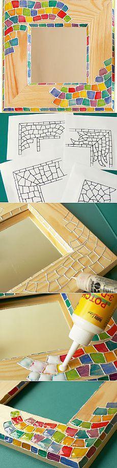 Как сделать мозаику с трехмерным эффектом (поделки из дерева).