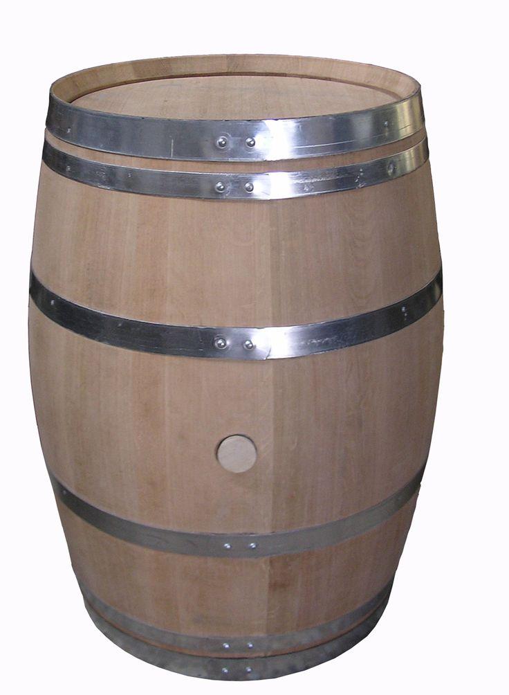 barricas de roble amaricano