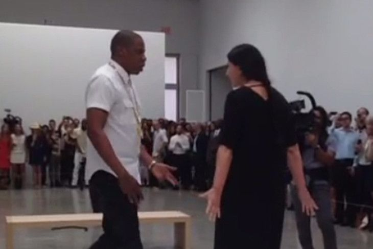 """Jay-Z Lip Syncs """"Picasso Baby"""" For 6 Hours at NYC Art Museum (via http://www.fuse.tv/2013/07/jay-z-lip-syncing-picasso-baby)"""