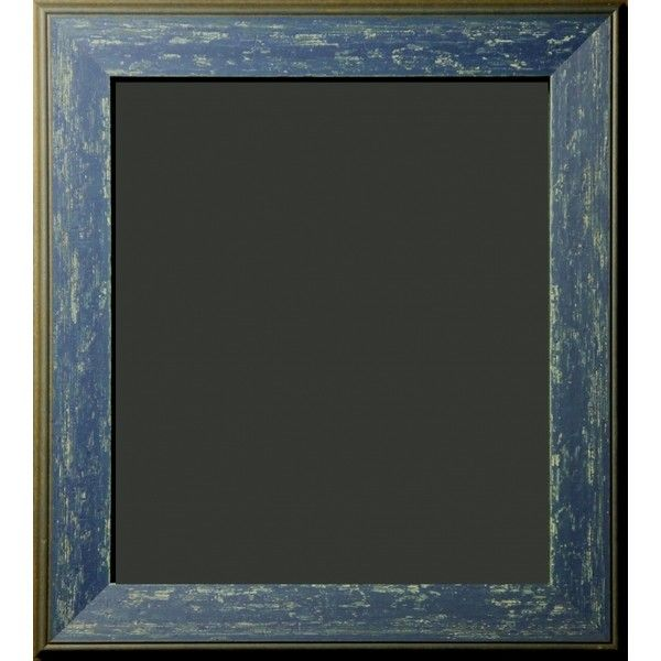 """Harriman Blue Denim Distressed Rustic Frame 2 1/4"""" ($280) ❤ liked on Polyvore featuring home, home decor, frames, borders, picture frame, blue frames, blue home accessories, blue picture frames, blue home decor and denim home decor"""