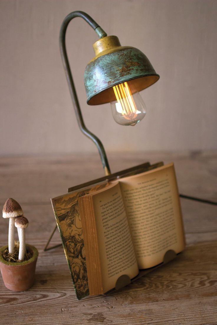Desk Lamp with Ebook Holder