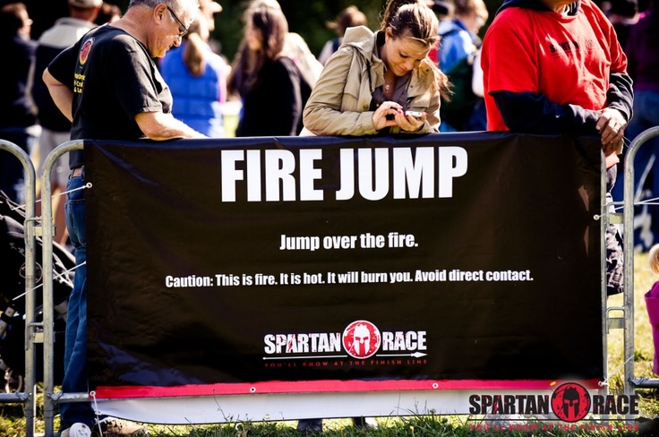 It should be common sense, but the racers we have are crazy and do not always pay attention.  #SpartanRace #Fire #Rules www.spartanrace.com