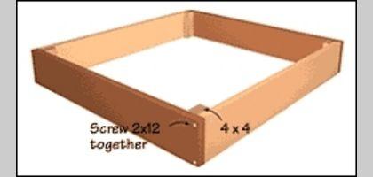 How to Make a Wooden Sandbox | eHow.com
