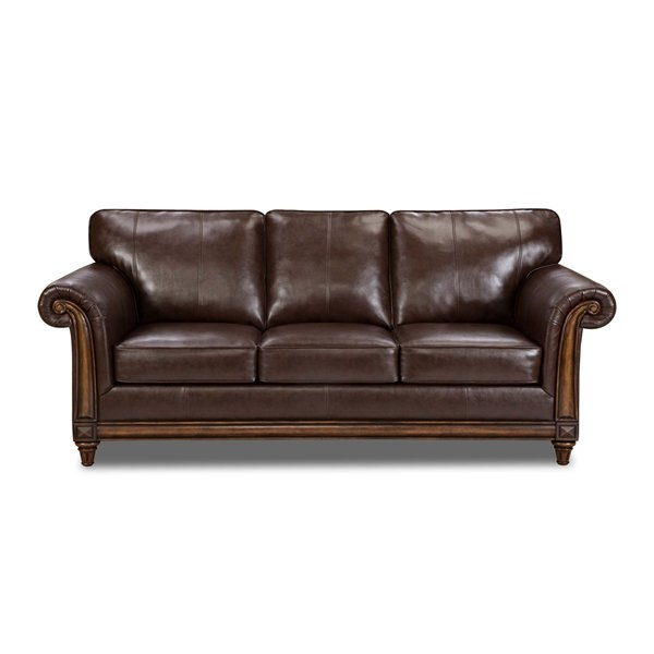 Leather Hide A Bed Sofa: Eventually Want To Replace My