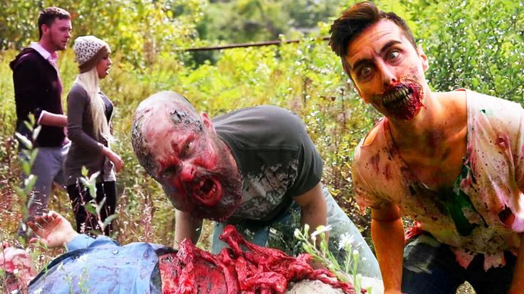Zombies In Real LIfe Prank - YouTube
