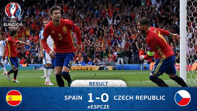 Euro 2016 France (Grupos): España 1 - República Checa 0 | Football Manager All Star