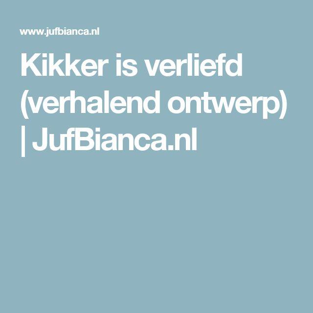 Kikker is verliefd (verhalend ontwerp)   JufBianca.nl