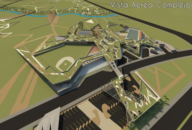 Tesis: Parque Recreacional y Complejo Deportivo / Arq. Francisco Cabrera (UJAP.2011) | Arquipedia Blog