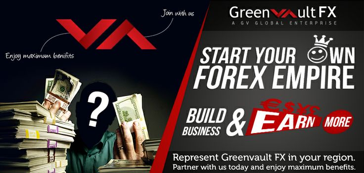 Regional Representative Partnership - If you are already a firm owner or want to have a profitable business in your preferred area Greenvault #Fx is the firm to approach.  Save more money by owning your own #Forex business and technology.