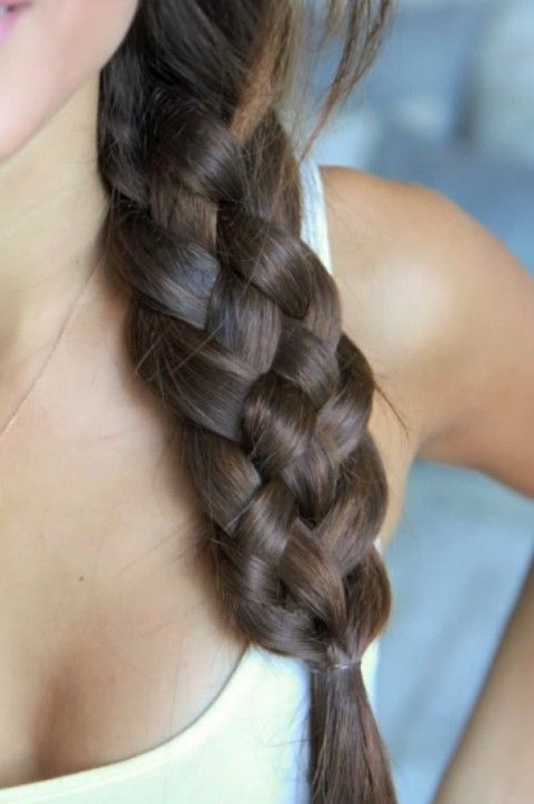 5 Strand Braid (there's a video on the linked page too)