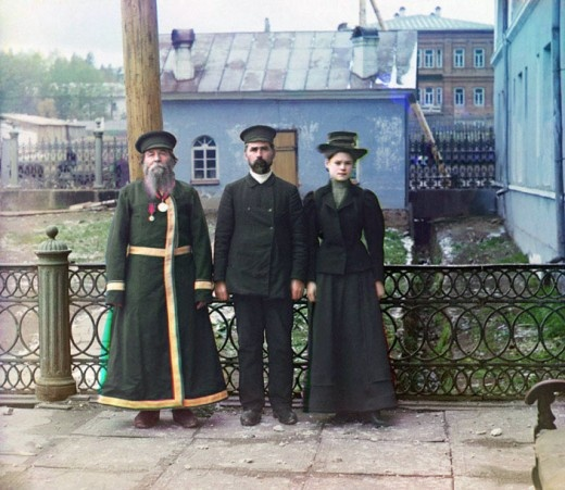 COLOUR PHOTOGRAPHS OF IMPERIAL RUSSIA, 1909-1915