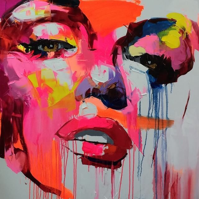 Françoise Nielly is a French knife-painter who is famous for painting vibrant and colourful closeup portraits of people such as Barack Obama. She was born in Marseille, brought up near Cannes and Saint-Tropez and is now living in Paris.  Françoise Niellys artwork is typically vibrant, and detailed. A lot of her work is inspired by urban life. Françoise uses knives to paint her artwork as she seems to prefer the thick, clean brushstrokes created by them. Painting portraits is her specialty…