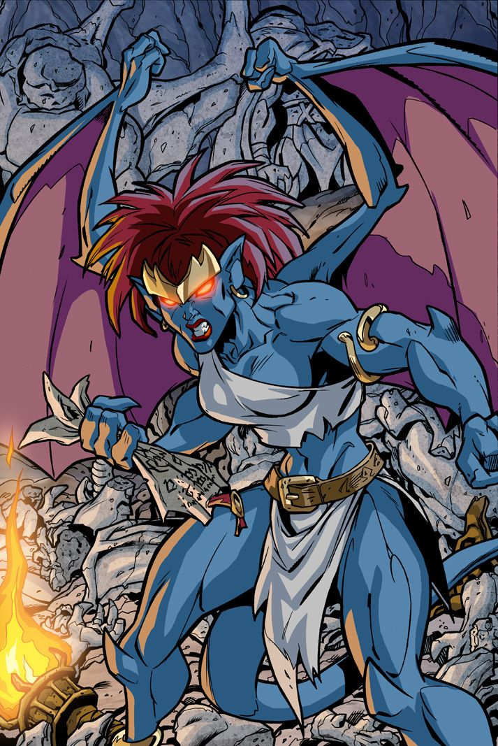 30 Best Demona Images On Pinterest Disney Gargoyles