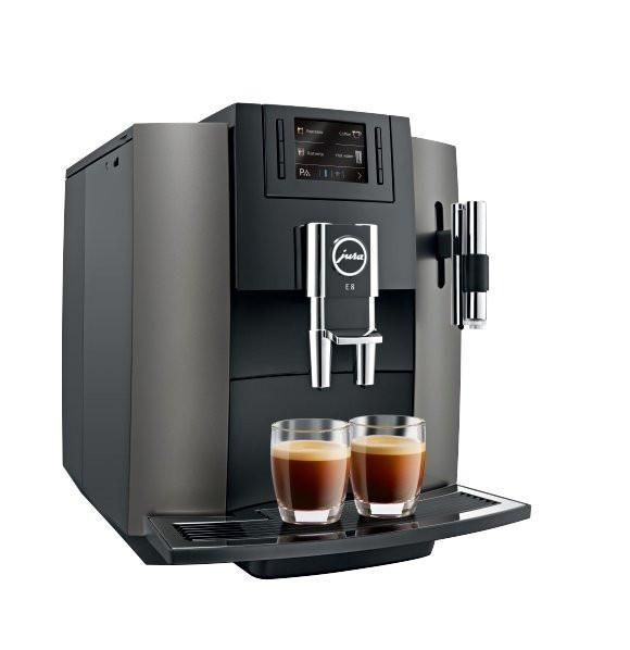 Jura E8 Piano Black Free Coffee Cups Automatic Coffee Machine Coffee Machine Espresso Coffee Machine