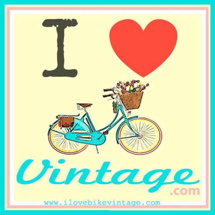 I Love Bike Vintage