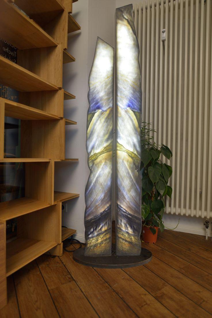 Marmor Lichtobjekt, Samii Breitenbach (Licht-Künstler)  #Design #Marmor #Licht