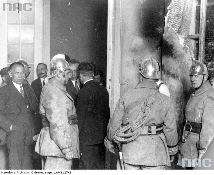 Pożar w lokalu Klubu Ukraińskiego w Sejmie, 1931