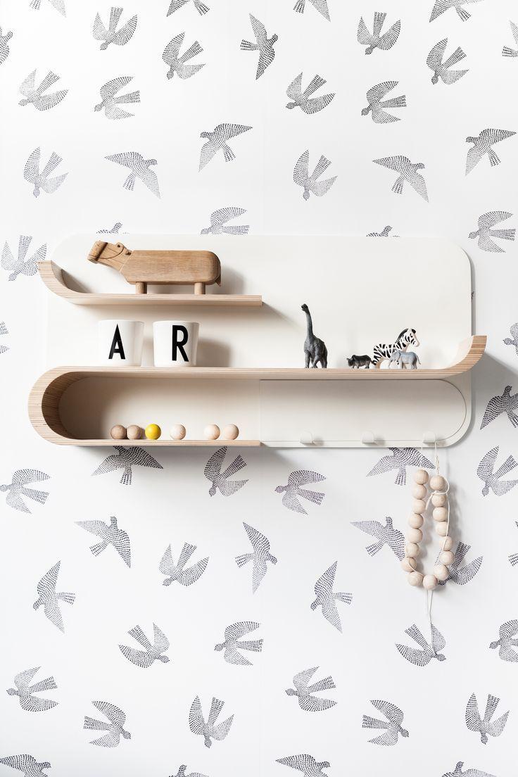 Rafa Kids - M Shelf at moonpicnic.com | modern kids furniture for nursery and kids room