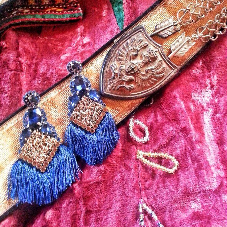 ... orecchini con filato pregiato, a breve disponibili nel nostro e-store @bluepointfirenze