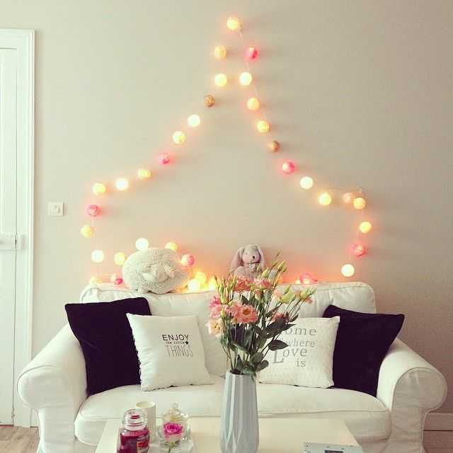 1000 images about deco guirlande lumineuse on pinterest - Guirlande case de cousin paul ...