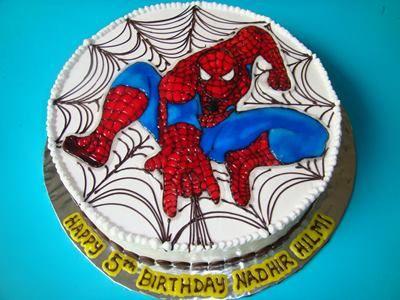Spiderman birthday cake Ideas 4