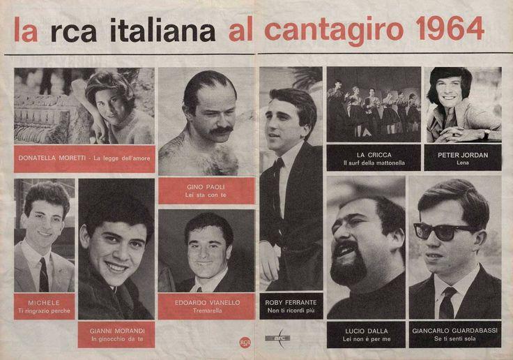 """Quando Peter Jordan arrivò in finale al Cantagiro, nel 1964, con """"Lena""""... (documentro ritrovato da Lorenzo Rossi) #ilpassatoèunabestiaferoce http://www.massimopolidoro.com/il_passato_e_una_bestia_feroce/"""