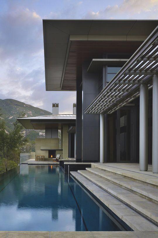 Living Pursuit // Hong Kong Villa by Olson Kunding Architects