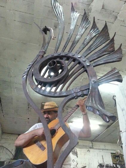 Kheir Akers amazing ironwork