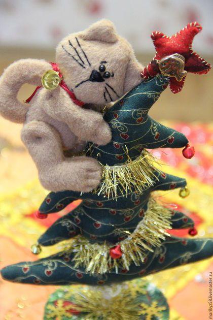 Купить Ёлочка для котика или кошачий Новый год. - зеленый, кот, котенок, елка, Новый Год